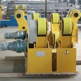 Rullo di giro a regolazione automatica del rotatore della saldatura per il serbatoio del tubo