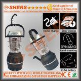 48 luz solar del LED con 1W linterna, Dynamo, USB (SH-1992A)
