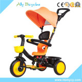 Bambino Trike del baldacchino dell'ombrello con il triciclo di bambini di /Portable della barra di spinta per gita rapida
