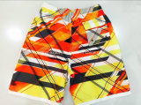 Swimwear di Short della scheda degli uomini modellato poliestere piano della vita di Oeko-Tex