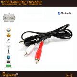 完全なトロリー無線トロリーFM SD USBのBluetoothによって動力を与えられるスピーカー