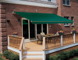 6.0*3.5mmanual BASIC Retractable Awning con Acrylic Fabric