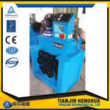 クイックチェンジのツールが付いている中国のホースのひだ付け装置の価格の油圧ホースのひだが付く機械