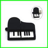 OEM PVC USBのメモリ棒のピアノUSB Pendrive