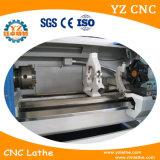 Pequeño CNC de torneado barato del torno de la base del centro y de la inclinación del CNC
