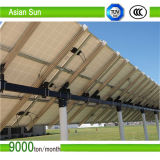 Sistema de seguimento solar da Duplo-Linha central para a energia
