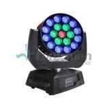 19 * 15W LED de haz principal móvil de la Luz-Luz de la etapa