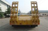 3-assen de Gele Lage Semi Aanhangwagen van het Bed met Ladder