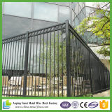 Black Powder Coated ornamental Iron Picketh Fence for America
