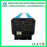 DC12V AC110/120V 60Hz 5000Wの純粋な正弦波インバーター(QW-P5000)