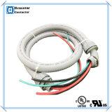 "UL Liquid-Tight Air Conditioner Chicotes elétricos Conduit Whip Water-Tight Kit de chicotes elétricos 1/2 ""X4 ', 10AWG"