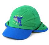 모자가 65% 폴리에스테 35% 면 UV 50+ 보호 선전용 플랩에 의하여 농담을 한다