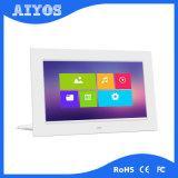 セリウムFCC RoHS 7inch 1024*600 IPSデジタル映像の写真フレーム