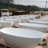 Vasca da bagno di pietra indipendente B003 della vasca da bagno di superficie solida di alta qualità
