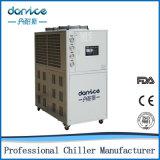 macchina più fredda di raffreddamento ad acqua di 220V 60Hz 3pH 12ton con due compressori di Danfoss