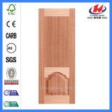 Panel HDF moldeado Brich de chapa de madera de la puerta