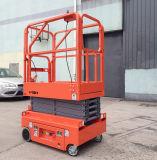 240kg het elektrische Platform van het Werk van de Lift van de Schaar van de Controle Gemotoriseerde Lucht