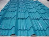 Azulejo de acero revestido revestido del material para techos del color/de azotea del color para Angola