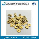 Tungstengの炭化物の金張りのコーティングが付いている手動セラミックタイルの切刃