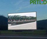 Écran polychrome extérieur de P6 DEL pour la publicité visuelle d'intense luminosité