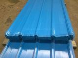 Hoja galvanizada cubierta color del material para techos del perfil del rectángulo