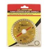 """105mm (4 """") coupant des lames de diamant de Turbo de disque"""
