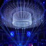 De LEIDENE van de Verlichting DMX van DJ Buis van Metero