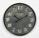Orologio domestico del metallo dell'oggetto d'antiquariato della decorazione di modo