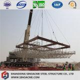 Estrutura de aço do frame do espaço para o telhado de vertente