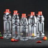 estiramiento plástico del moldeo por insuflación de aire comprimido de la botella de agua del animal doméstico 1L que hace la máquina