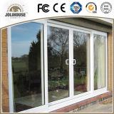 Da fibra de vidro barata UPVC do preço da fábrica de China porta de vidro plástica personalizada fábrica com venda direta dos interiores da grade