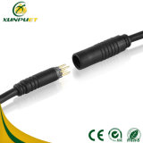 Высокочастотный разъем Pin кабельной проводки M8 для, котор делят велосипеда