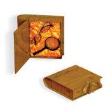 Contenitore di legno di monili di lusso della Spruzzo-Pittura, casella di moneta, casella di bambù, contenitore di vino, scatola di presentazione cosmetica, Humidor del sigaro