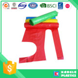 Delantal plástico reutilizable de encargo impermeable del PE