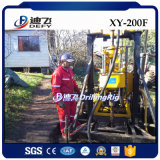 200m X-Y200f水試錐孔の鋭い機械、トレーラーは掘削装置を取付けた
