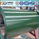 Bobine en acier enduite d'une première couche de peinture de couleur en acier de bobine de matériau de toiture