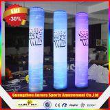 Tubo gonfiabile chiaro esterno di pubblicità LED/colonna gonfiabile di Column/Inflatable