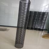 Tubos filtrantes perforados de acoplamiento del metal