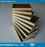 El panel de pared de PVC laminado de madera del grano