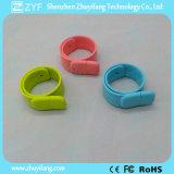 주문 실리콘 철석 때림 소맷동 팔찌 USB 섬광 드라이브 (ZYF5053)
