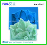 3D Baby Angle Silicone Fondant Molds para Cake Decoration