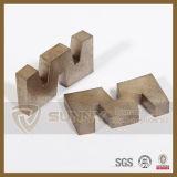Segment direct de lame de découpage de granit de diamant d'approvisionnement d'usine