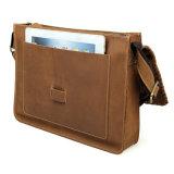 熱い販売型様式の実質の革学生かばんのメッセンジャー袋