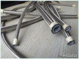 Tubo flessibile a canna liscia della treccia dell'acciaio inossidabile del tubo flessibile di Teflon di SAE100 R14 PTFE