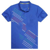 형식 Cotton 또는 Polyester Printed Golf Polo Shirt (P011)