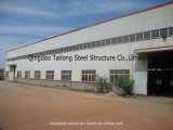 Entrepôt portatif pertinent de structure de bâti en acier de modèle de construction d'énergie
