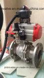 Sfera pneumatica Valve/Hb2810-16c dell'acciaio inossidabile di registrazione