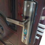 Double porte d'acier inoxydable de feuille d'entrée, entrée principale (SC-S034)