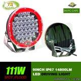 Indicatore luminoso automatico del lavoro di azionamento della lampada 111W 9inch LED del CREE per SUV