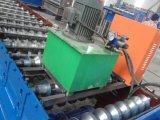 Rullo del pannello del tetto della lamiera di acciaio di colore di Doppio-Strato che forma macchina